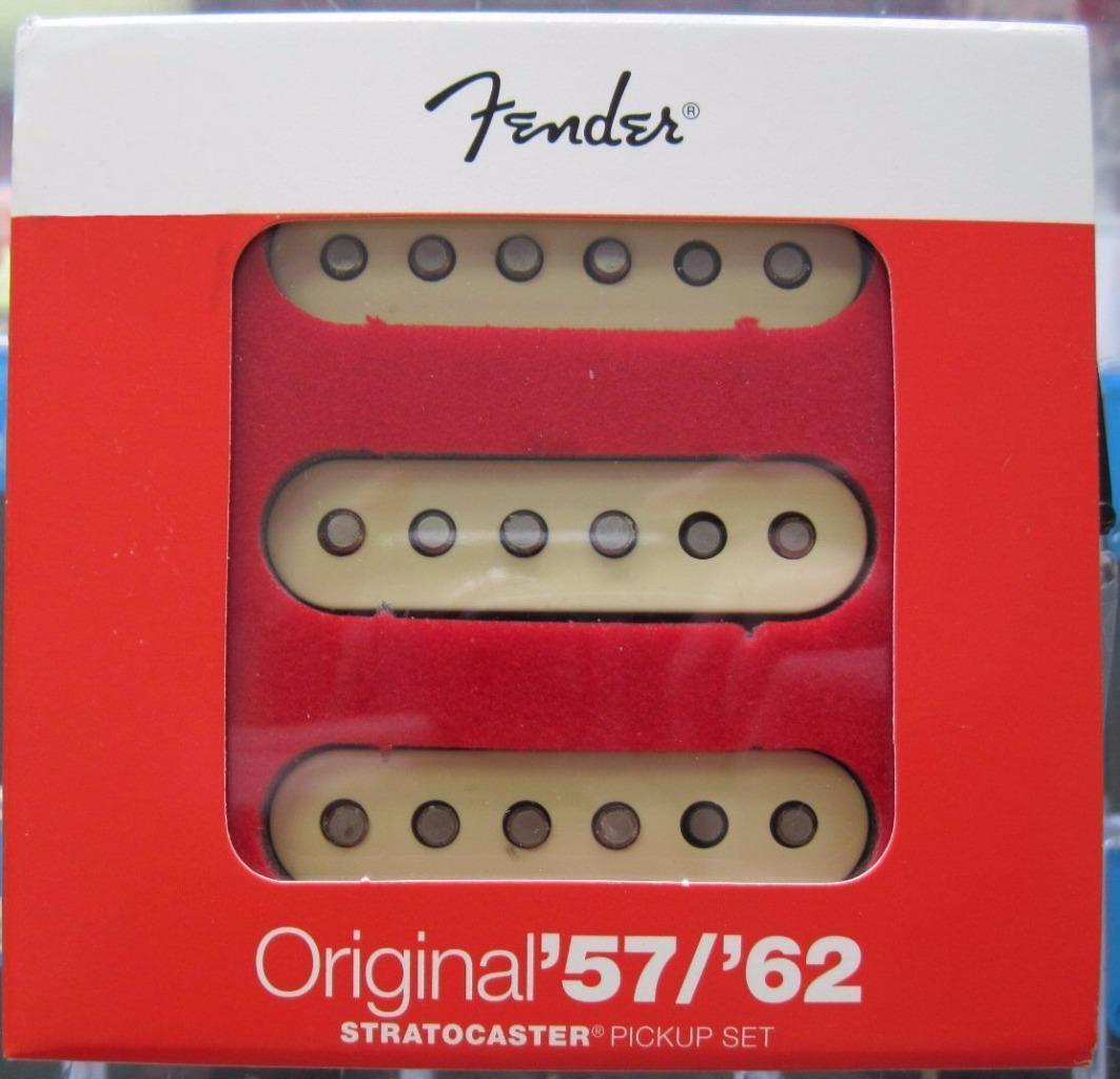 Fender 5762 Pickups Wiring Diagram Free Download 62 Telecaster Original 57 Strat Pickupsusaaged White Cover